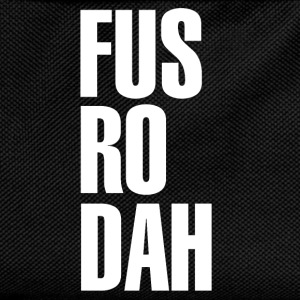 FUS RO DAH T-Shirt Design T-Shirts - Kids' Backpack