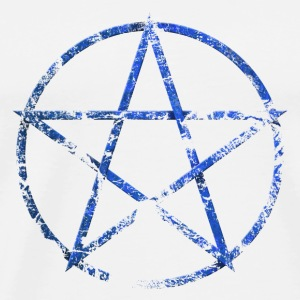 pentagram_a Badges - T-shirt Premium Homme