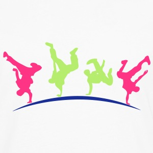 break dance hip hop danseur18 Tee shirts - T-shirt manches longues Premium Homme