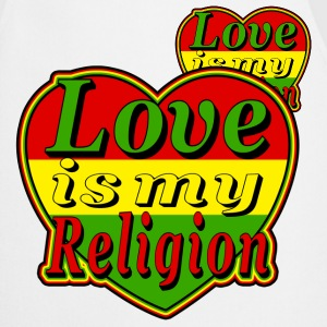 love is my religion Vestes - Tablier de cuisine