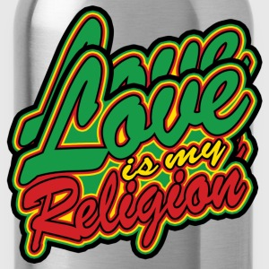 love is my religion Vestes - Gourde