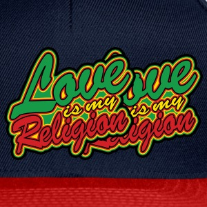love is my religion Vestes - Casquette snapback