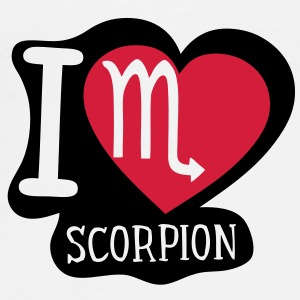 i love scorpion signe astrologique Tasses - T-shirt Premium Homme