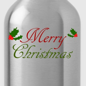 merry christmas Shirts - Water Bottle
