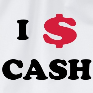 I love Cash T-Shirts - Turnbeutel