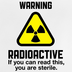 Warning Radioactive 2 (2c)++ Camisetas niños - Camiseta bebé