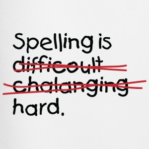 Spelling Is Hard 2 (dd)++ T-Shirts - Men's Football shorts