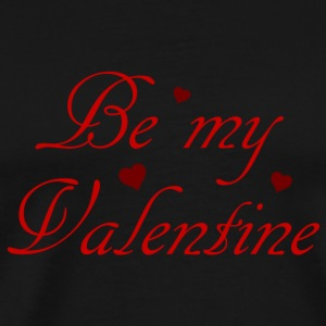 be my valentine Bags  - Men's Premium T-Shirt