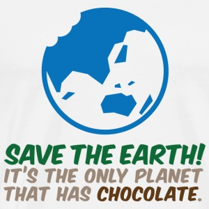 Save The Earth 2 (dd)++ Pullover - Männer Premium T-Shirt