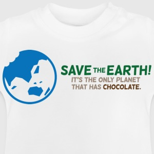 Save The Earth 1 (dd)++ Børne T-shirts - Baby T-shirt