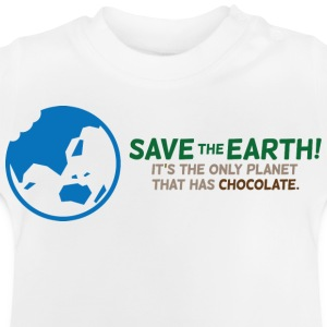 Save The Earth 1 (dd)++ Barneskjorter - Baby-T-skjorte