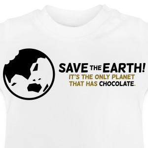 Save The Earth 1 (2c)++ Barneskjorter - Baby-T-skjorte