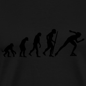 Evolution of inline speed skating  Kids' Tops - Men's Premium T-Shirt