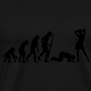 End of evolution  Aprons - Men's Premium T-Shirt