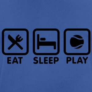 Eat Sleep Playing Tennis Hoodies & Sweatshirts - Men's Breathable T-Shirt