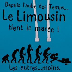 limousin maree aube alcool temps Tee shirts - Sweat-shirt contraste