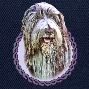 Bearded Collie 001 Bags  - Snapback Cap