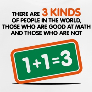 3 Kinds Of People 1 (3c)++ Kinder shirts - Baby T-shirt