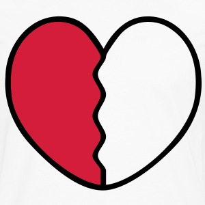 Heart Broken T-Shirts - Men's Premium Longsleeve Shirt