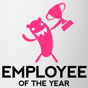Employee Ofthe Year 3 (2c)++ Tröjor - Mugg