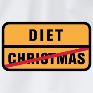 Christmas | Diet T-Shirts - Drawstring Bag