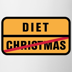 Christmas | Diet T-Shirts - Taza