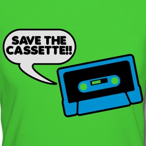 Save The Cassette Kids' Tops - Women's Organic T-shirt