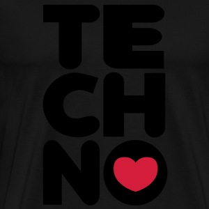 Techno Tower Sweaters - Mannen Premium T-shirt