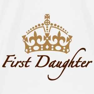 First Daughter | Crown | Krone Accessoires - Koszulka męska Premium