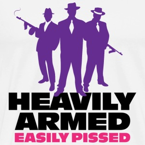Heavily Armed 1 (dd)++ Sweat-shirts - T-shirt Premium Homme