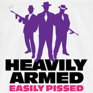 Heavily Armed 1 (dd)++ Hoodies & Sweatshirts - Men's Premium T-Shirt