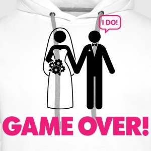 Game Over 3 (dd)++ T-Shirts - Men's Premium Hoodie