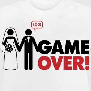 Game Over 2 (dd)++ Børne T-shirts - Baby T-shirt