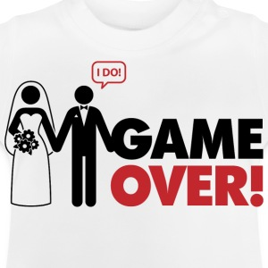 Game Over 2 (dd)++ Kinder shirts - Baby T-shirt