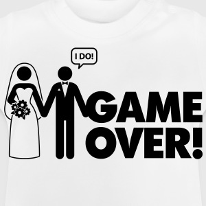 Game Over 2 (1c)++ Børne T-shirts - Baby T-shirt