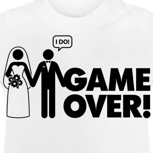 Game Over 2 (1c)++ Kinder shirts - Baby T-shirt