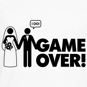 Game Over 2 (1c)++ Gensere - Premium langermet T-skjorte for menn