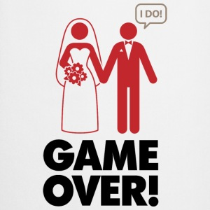 Game Over 1 (dd)++ T-shirts - Keukenschort