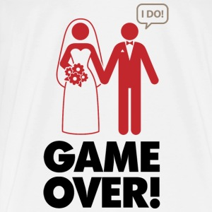 Game Over 1 (dd)++ Sweaters - Mannen Premium T-shirt