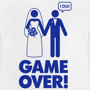 Game Over 1 (1c)++ Børne T-shirts - Baby T-shirt