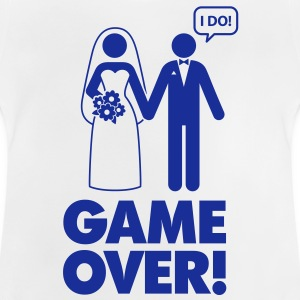Game Over 1 (1c)++ Kids' Shirts - Baby T-Shirt