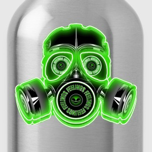 feelings gasmask T-Shirts - Trinkflasche