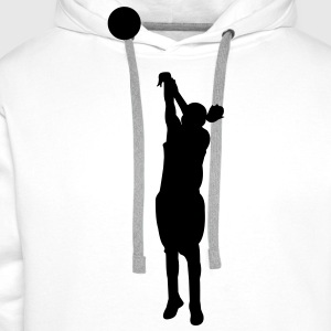 Women basketball - Sweat-shirt à capuche Premium pour hommes