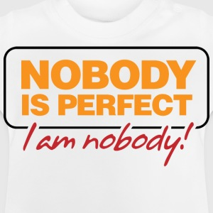 Nobody Is Perfect 2 (dd)++ Barneskjorter - Baby-T-skjorte