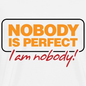 Nobody Is Perfect 2 (dd)++ Sweaters - Mannen Premium T-shirt