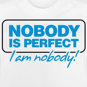 Nobody Is Perfect 2 (2c)++ Barneskjorter - Baby-T-skjorte