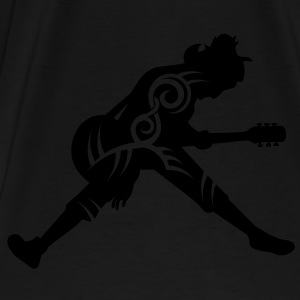 Guitar player tribal - Premium-T-shirt herr
