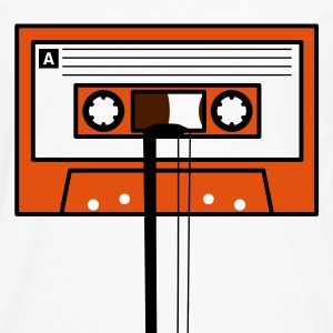 Cassette tape and pencil. - Männer Premium Langarmshirt