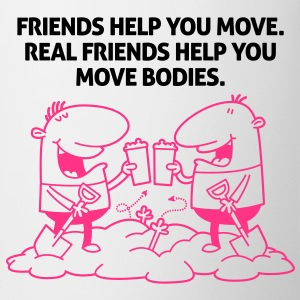 Real Friends Help 2 (2c)++ Grembiuli - Tazza