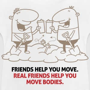 Real Friends Help 1 (dd)++ Børne T-shirts - Baby T-shirt